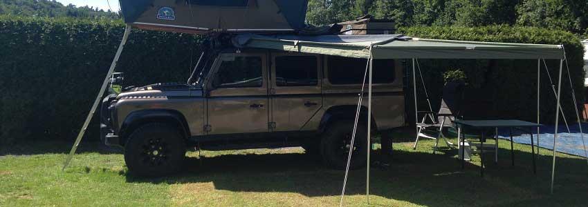 Ruime camperplaatsen op camping Polleur in de Belgische Ardennen