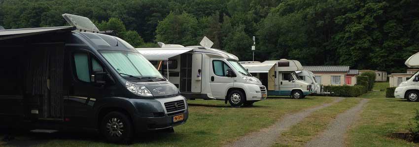 Camperplaatsen in de Ardennen