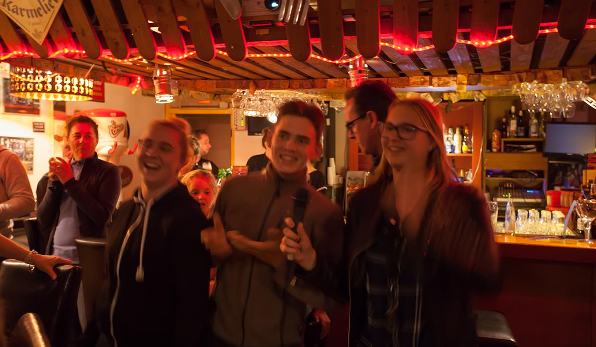 karaoke op de camping
