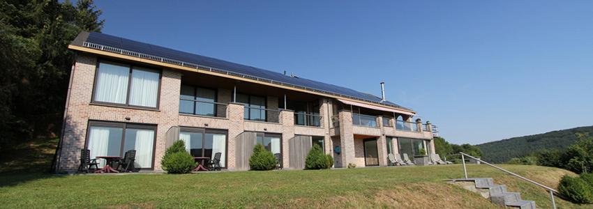 Luxe appartementen in de Ardennen met eigen terras