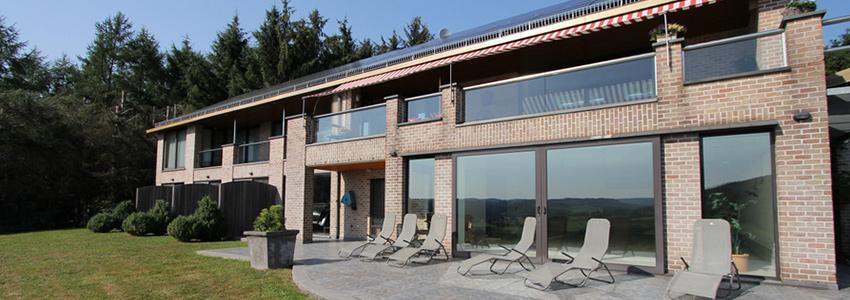 Appartementen voor 2 personen in het hartje van de Belgische Ardennen