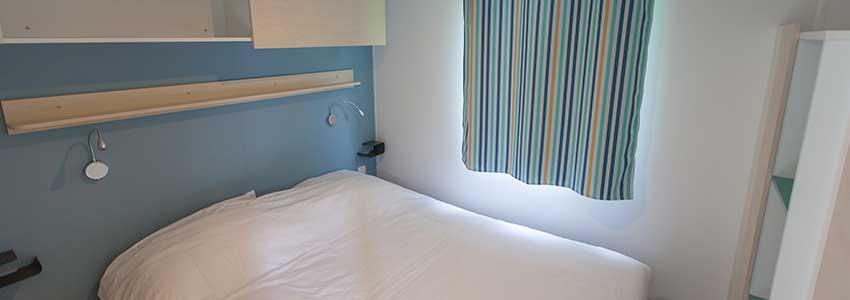 2-persoons slaapkamer van de Mobile Home