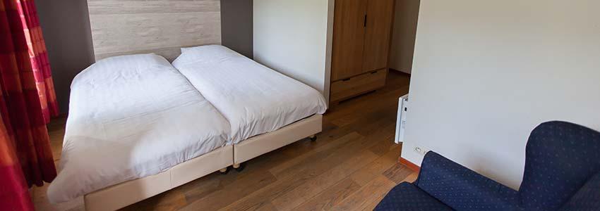 Ruime 2-persoons slaapkamer in vakantiewoning in de Belgische Ardennen