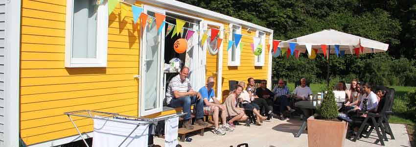 Gezellige familiecamping voor een weekendje weg in de Belgische Ardennen